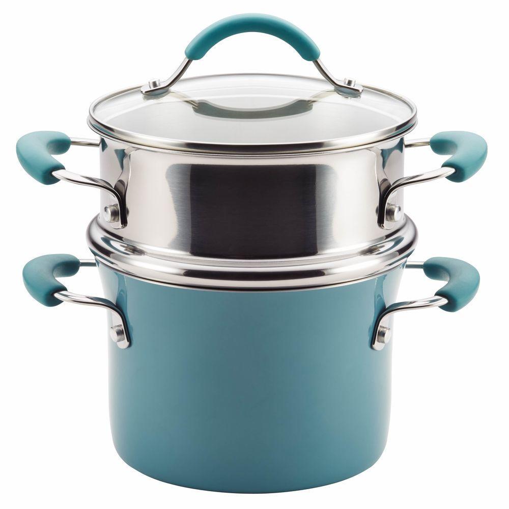 Cucina 3 Qt. Aluminum with Steamer