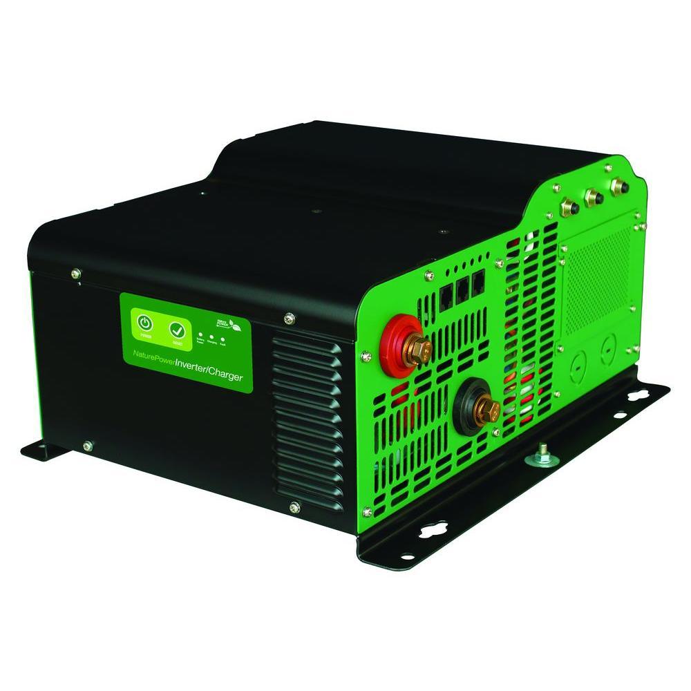 3000-Watt Pure Sine Wave Inverter with 150-Amp Inverter Charger