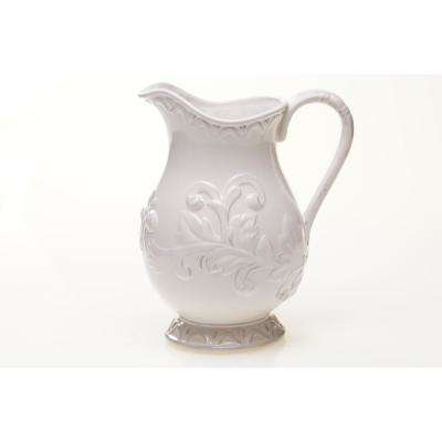 3 Qt. Firenze Ivory Pitcher