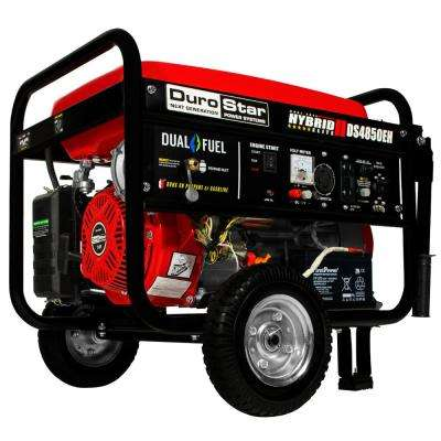3850 Watt Dual Fuel Hybrid Propane/Gasoline Powered Electric Start Portable Generator