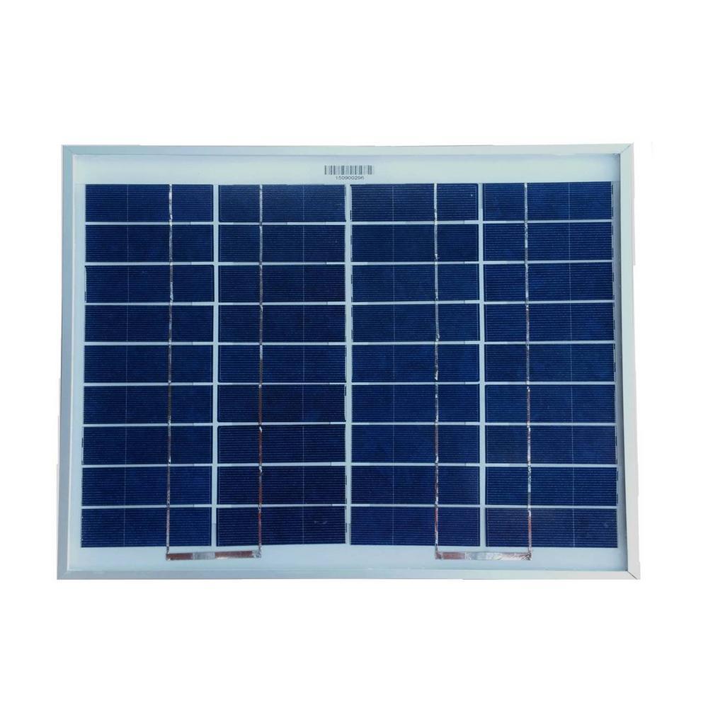 WindyNation 10-Watt Polycrystalline Solar Panel