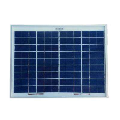 10-Watt Polycrystalline Solar Panel