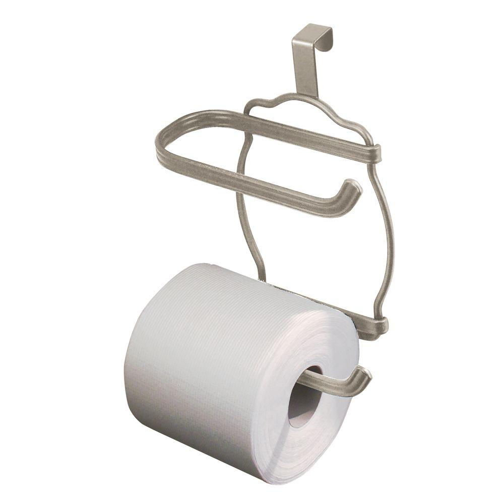 Interdesign York Lyra Over Tank Toilet Paper Holder In Satin 62175