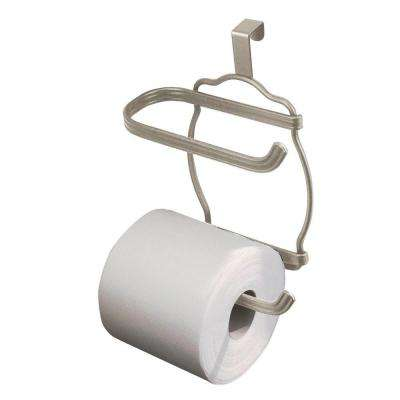 York Lyra Over Tank Toilet Paper Holder in Satin