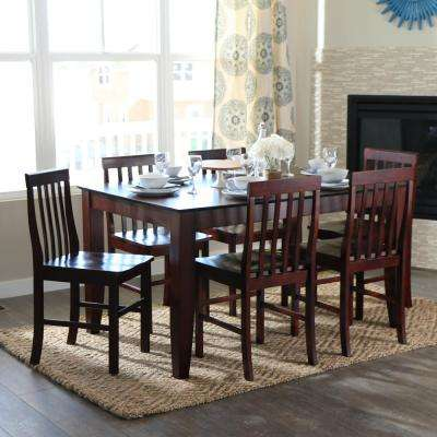 Abigail 7-Piece Espresso Dining Set