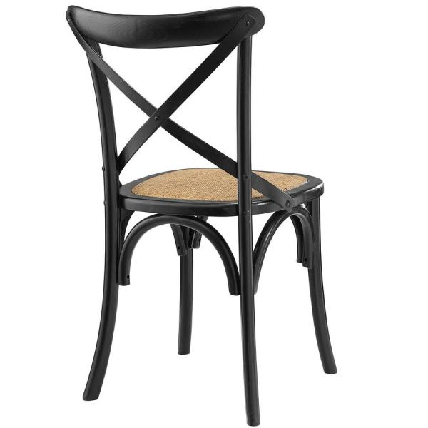 MODWAY - Gear Black Dining Side Chair
