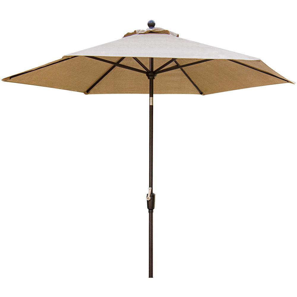 Concord 9 ft. Patio Umbrella in Tan