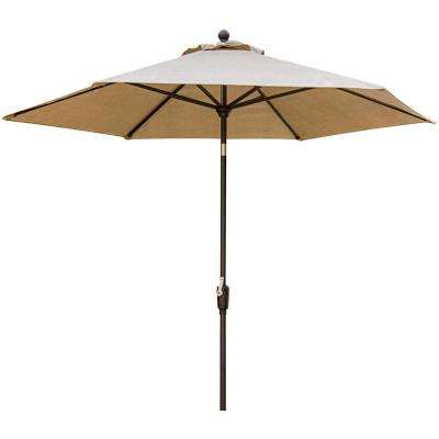 Concord 9 ft. Patio Umbrella in Tan