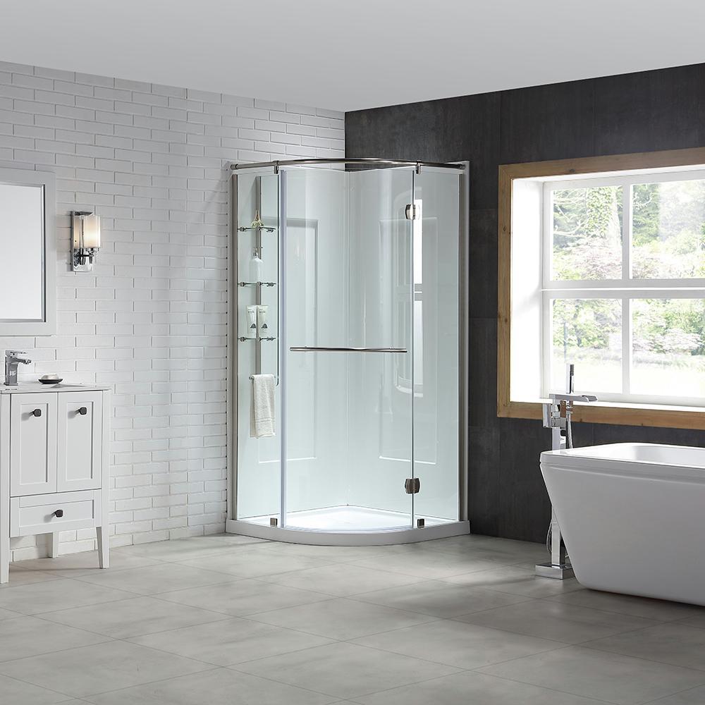 Base - Walls - Door - Shower Stalls & Kits - Showers - The Home Depot