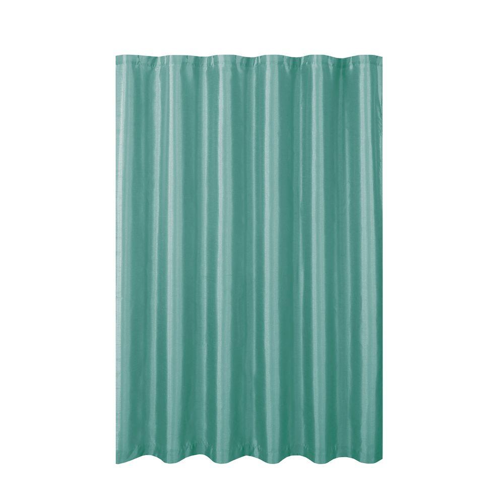 Jane Faux Silk 70 in. W x 72 in. L Shower