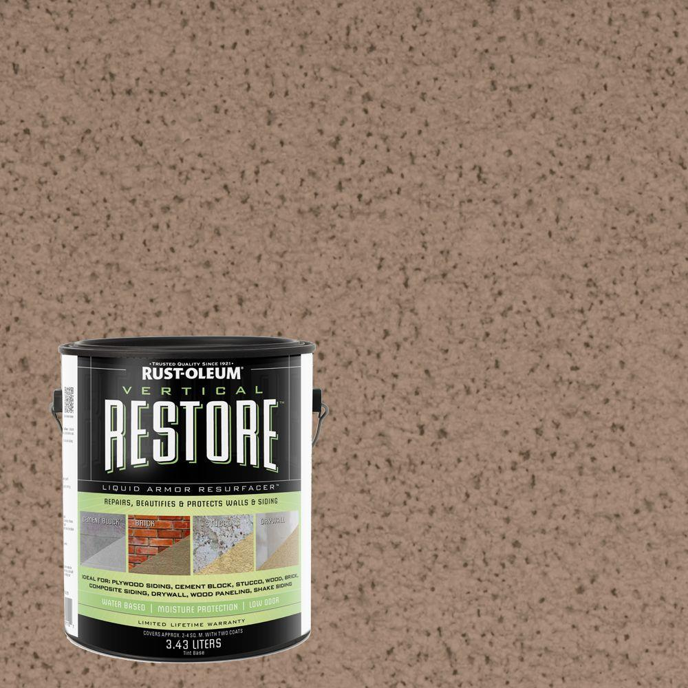 1-gal. Camel Vertical Liquid Armor Resurfacer for Walls and Siding