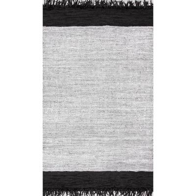 Hayworth Contemporary Silver 4 ft. x 6 ft.  Area Rug