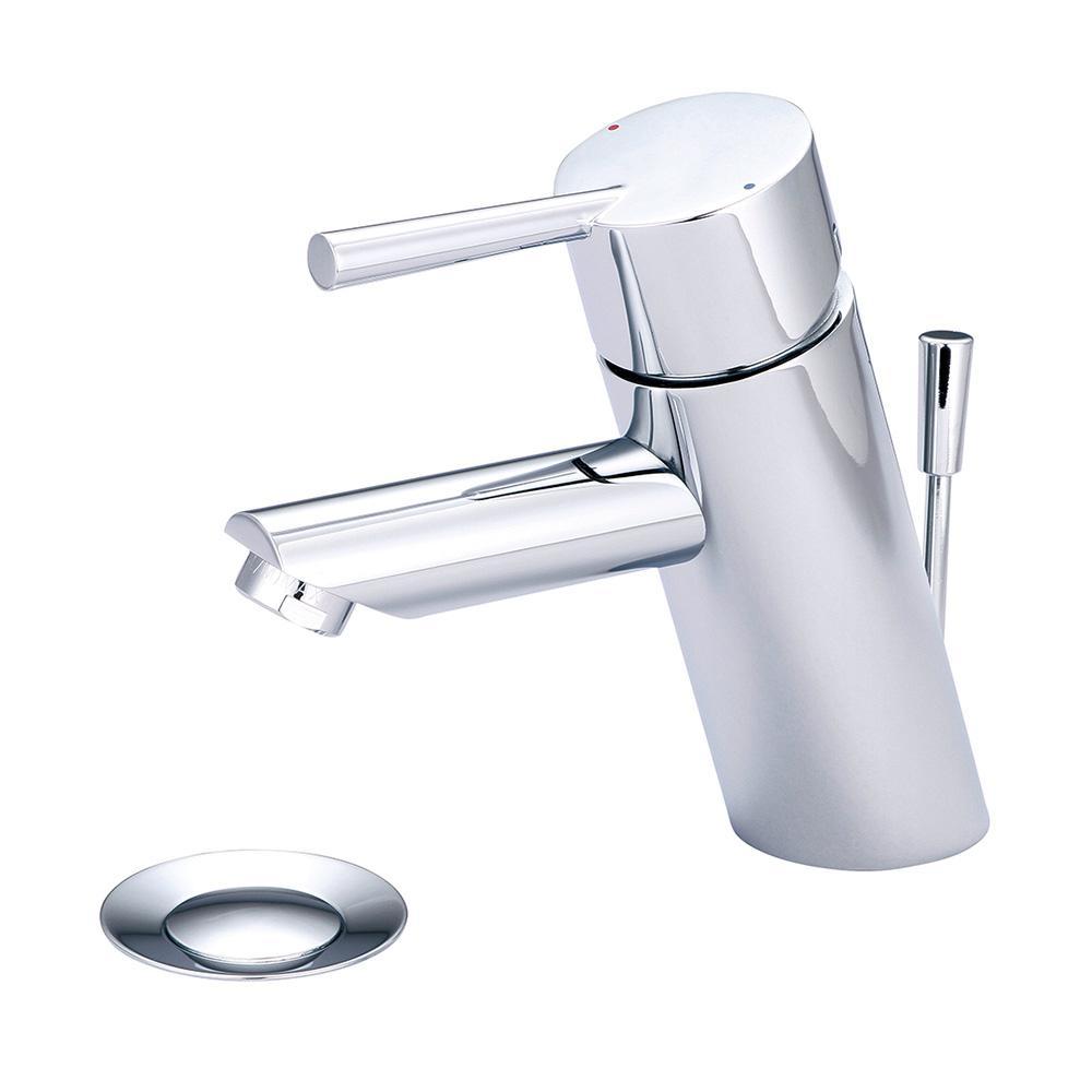 i2 Single Hole Single-Handle Bathroom Faucet in Polished Chrome