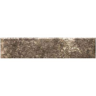 Earthstone Mink 3 in. x 12 in. Porcelain Tile Floor and Wall Bullnose (0.25 sq. ft.)