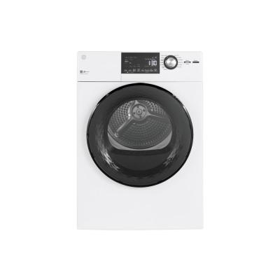 4.3 cu. ft. 240 Volt White Electric Dryer with Stainless Steel Basket, ENERGY STAR