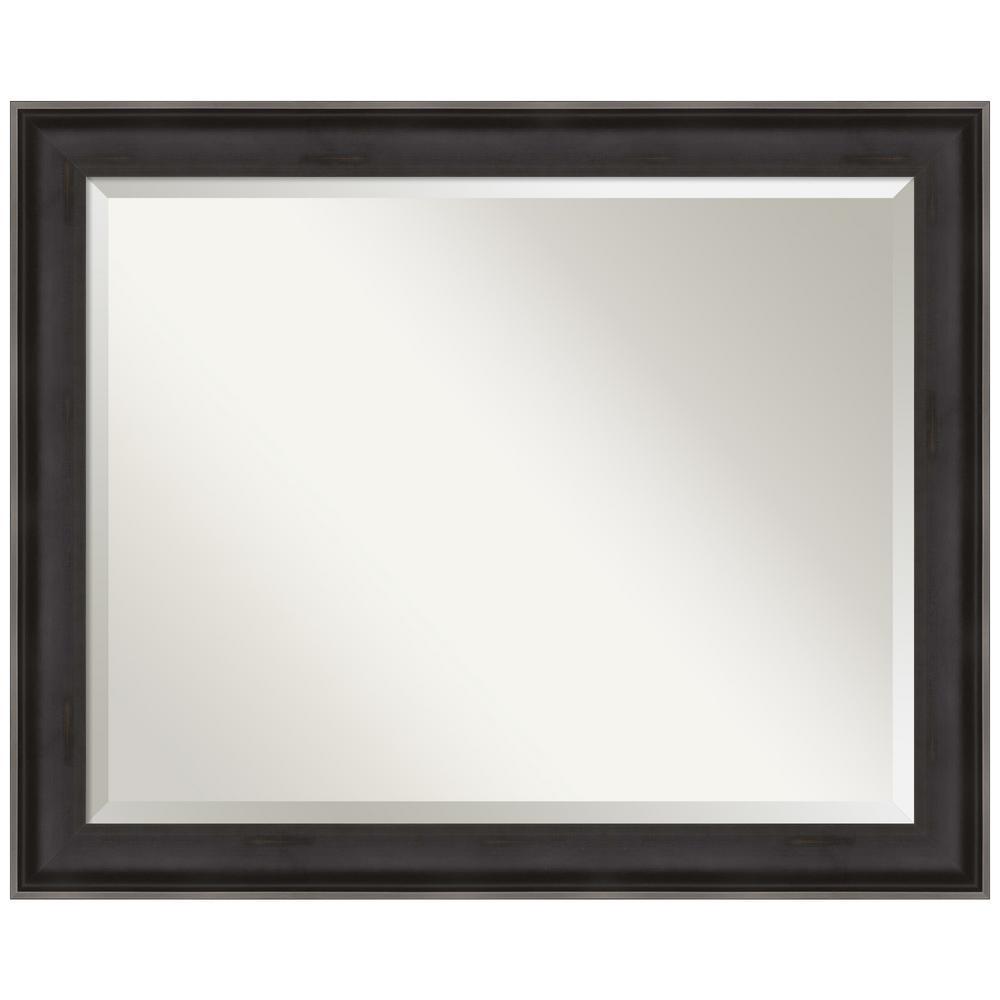 Amanti Art Allure Charcoal 32.38 in. x 26.38 in. Decorative Wall