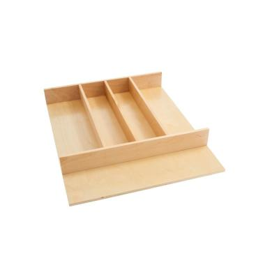 Tall Wood Utility Tray Insert