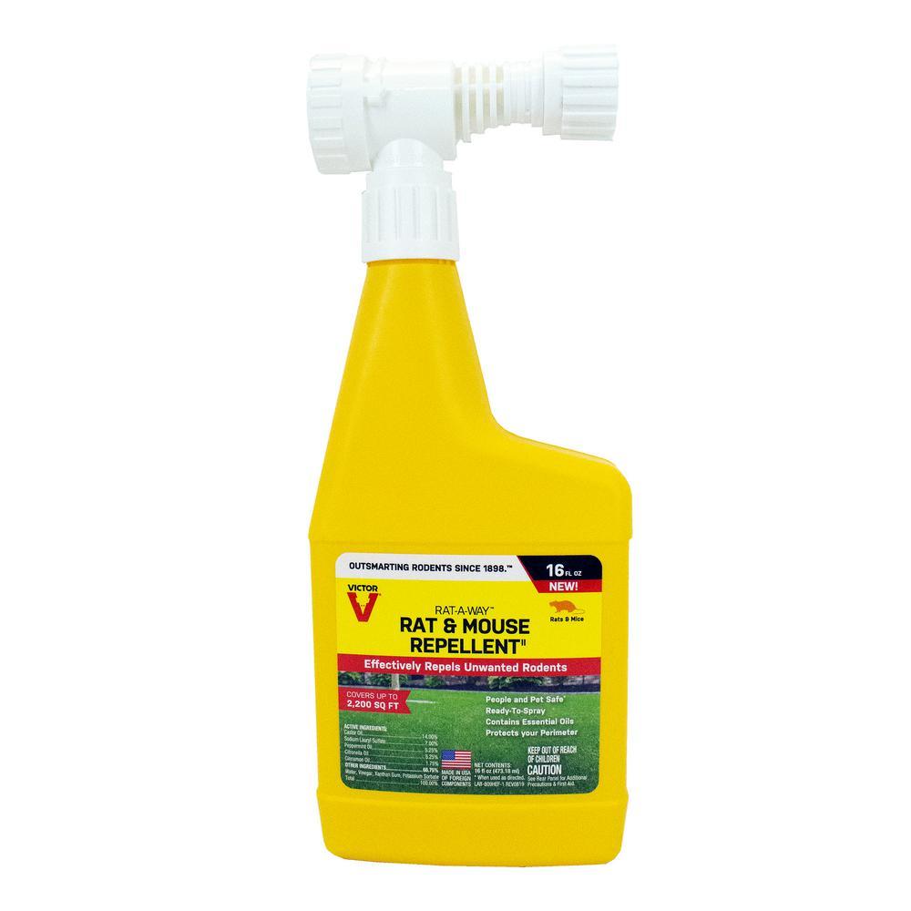 Victor Rat-A-Way 16 Fl. Oz. Rat And Mouse Repellent-M809HE