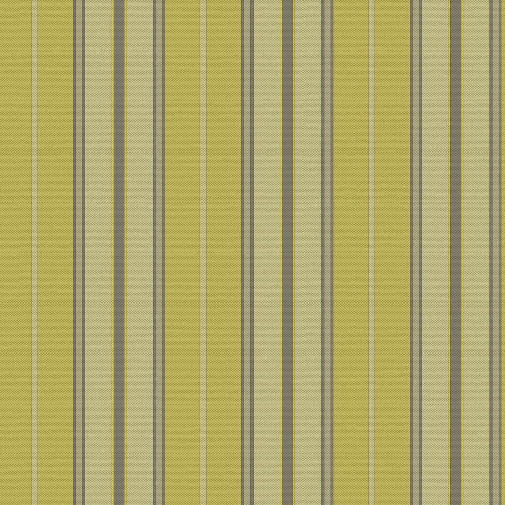 The Wallpaper Company 8 in. x 10 in. Newberry Stripe Yellow/Green Wallpaper Sample-DISCONTINUED