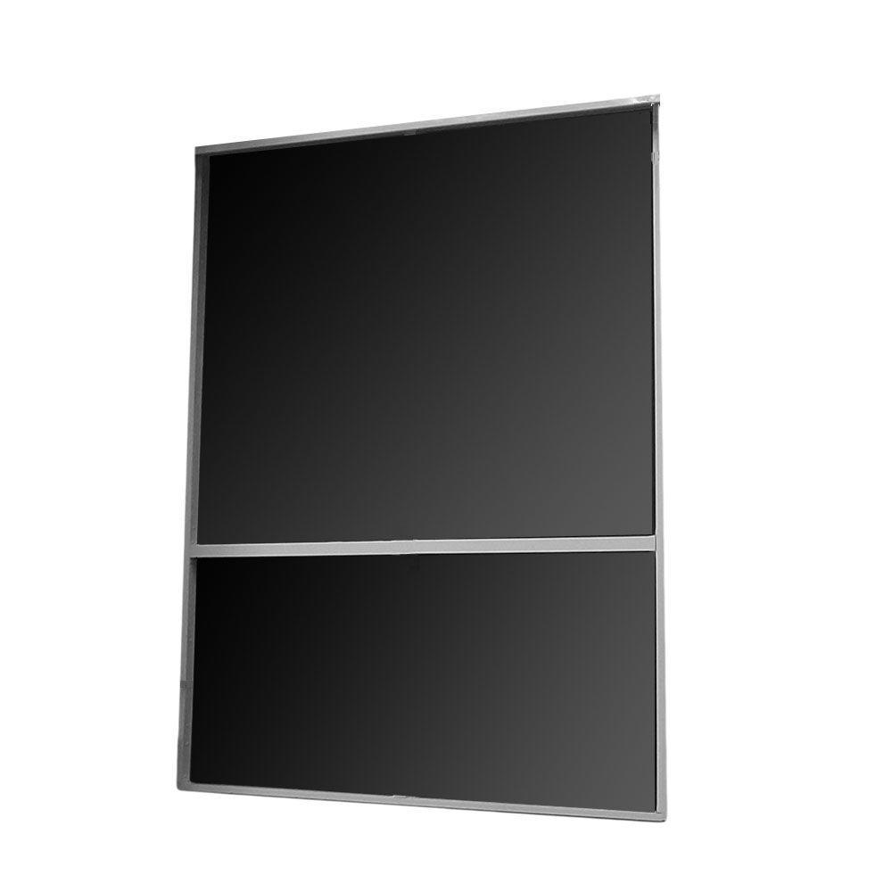 8 ft. x 8 ft. Bronze Aluminum Frame Screen Wall Kit with Fiberglass Screen