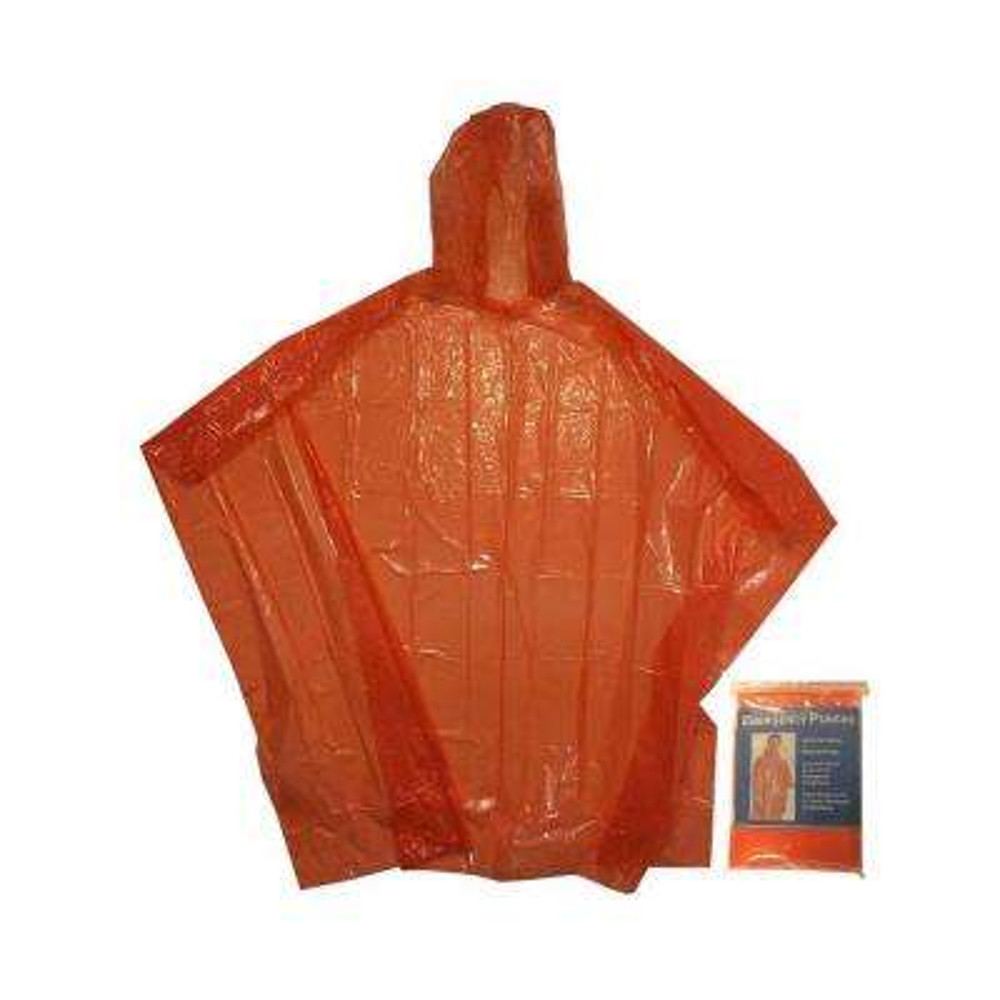 Kingstate Quick Cover Poncho in Orange