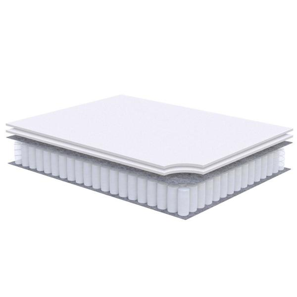 MODWAY Jenna 10 in. Twin Innerspring Mattress MOD-5768-WHI