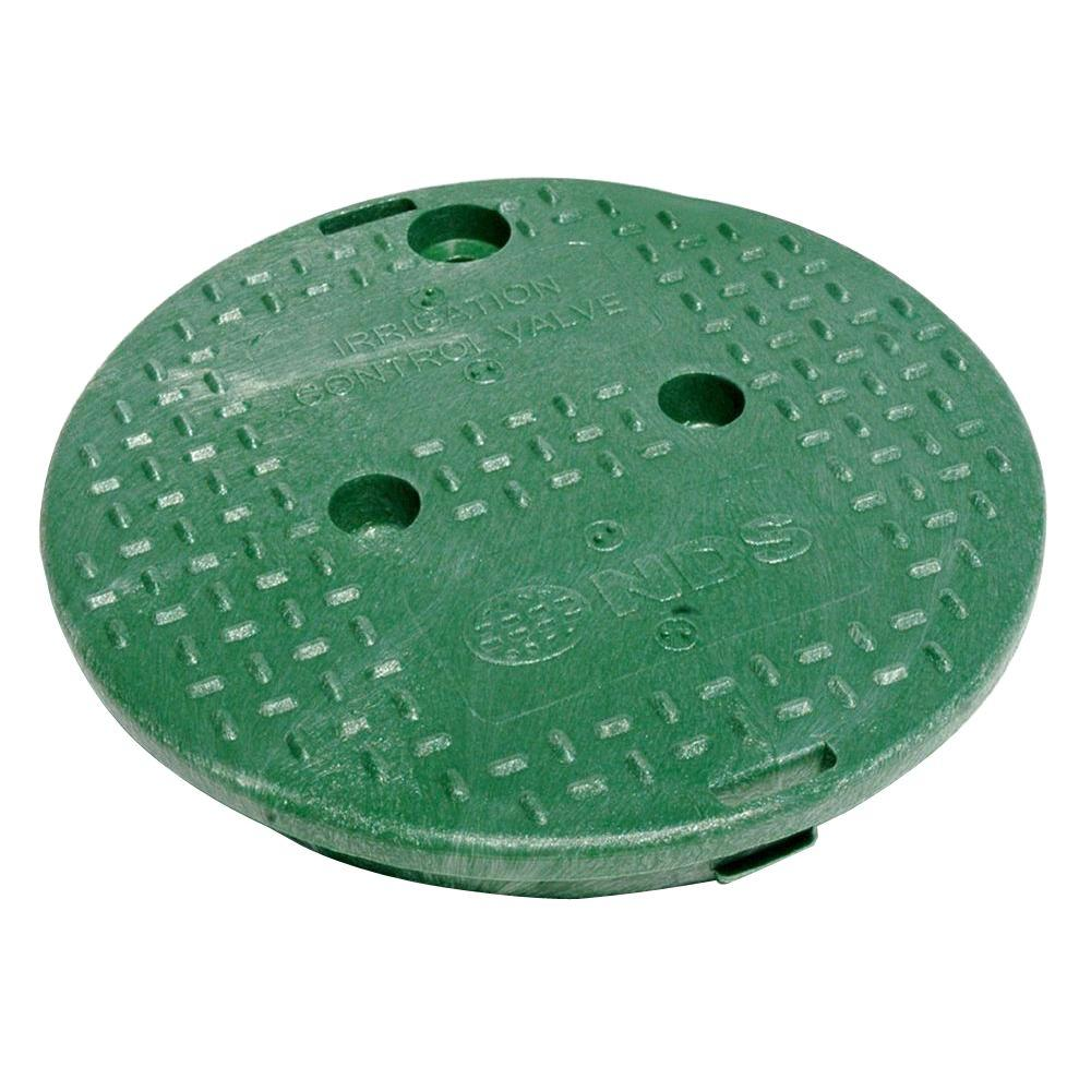NDS 10 in. Round Valve Box Overlapping ICV Cover