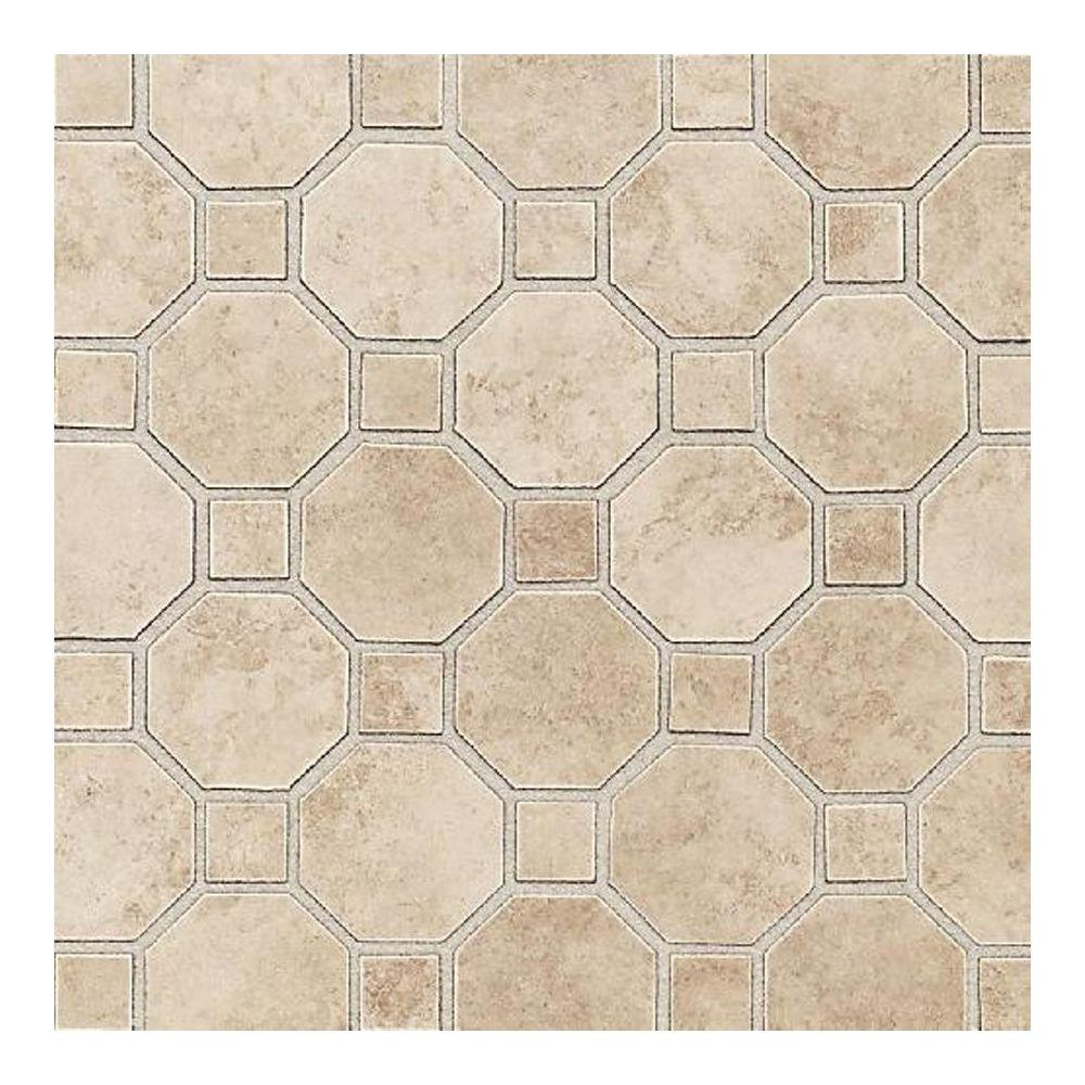 Mosaic tile tile the home depot salerno cremona caffe 12 in x 12 in x 6 mm dailygadgetfo Choice Image