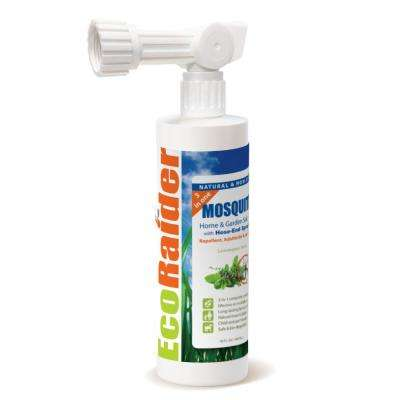 Mosquito Garden Treatment 16 oz. Hose-End Spray 3-in-1 Repellent Adulticide and Larvicide Natural and Non-Toxic