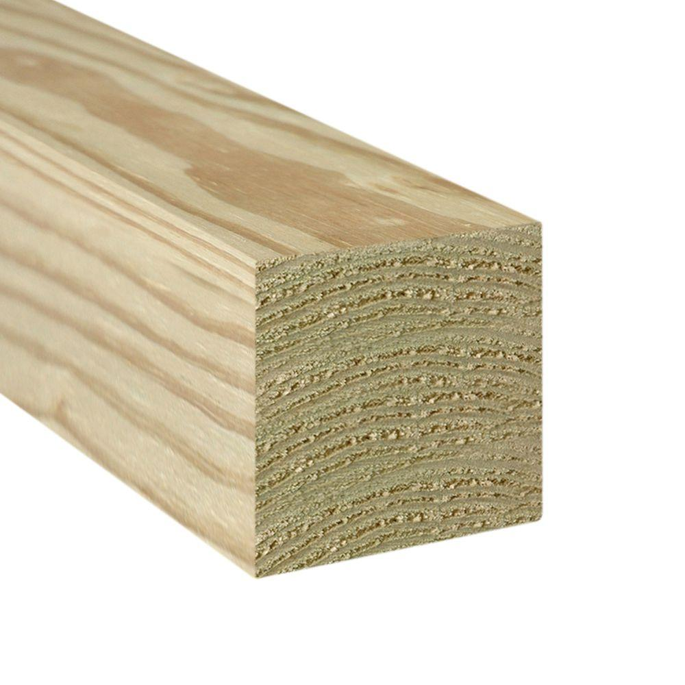 8 in. x 8 in. x 12 ft. Rough Cedar Timber-00034 - The Home ...