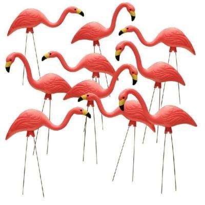 26 in. Pink Flamingo (10-Pack)