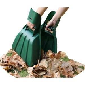Gardenised Pair Of Large Leaf Scoops Hand Rakes Qi003295 The