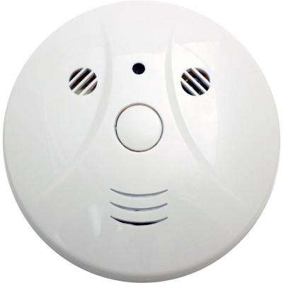 Smoke Detector DVR Camera with 30-Hour Battery and 16GB Memory