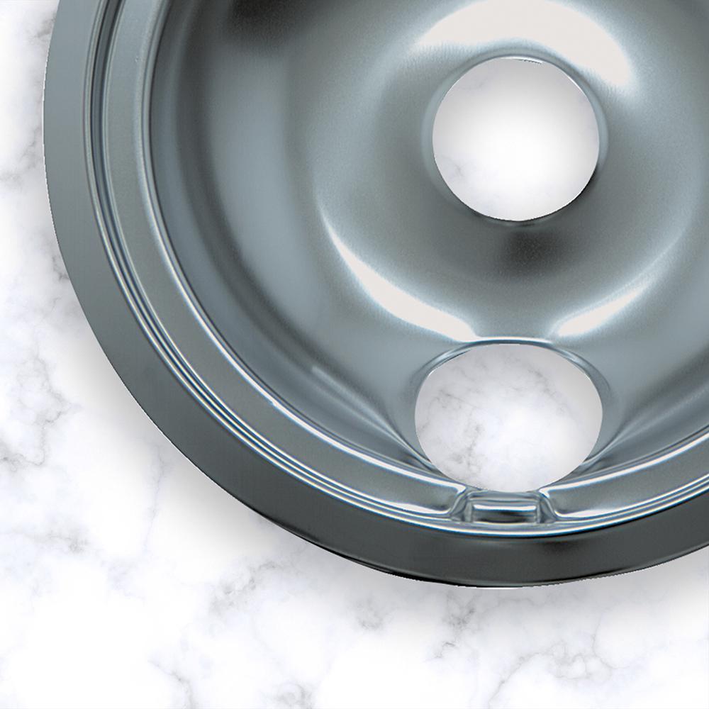 Range kleen Drip Bowl Chrome Large 8 Single Pack