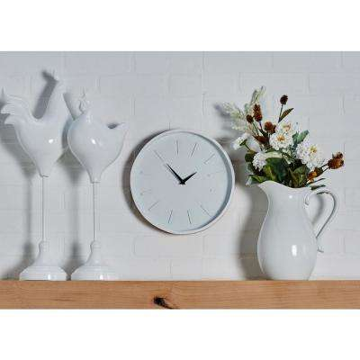 Multi-Colored Modern Wooden Wall Clock