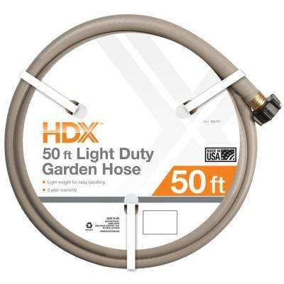 1/2 in. Dia x 50 ft. Light-Duty Water Hose