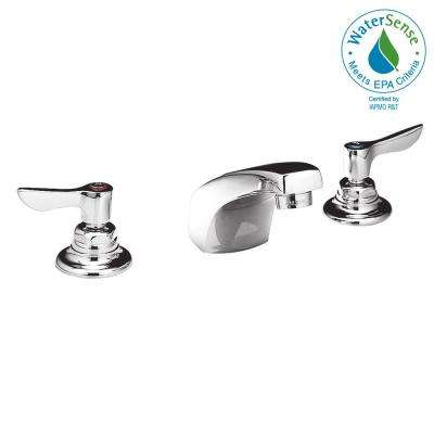 Monterrey 8 in. Widespread 2-Handle Low-Arc Bathroom Faucet in Polished Chrome