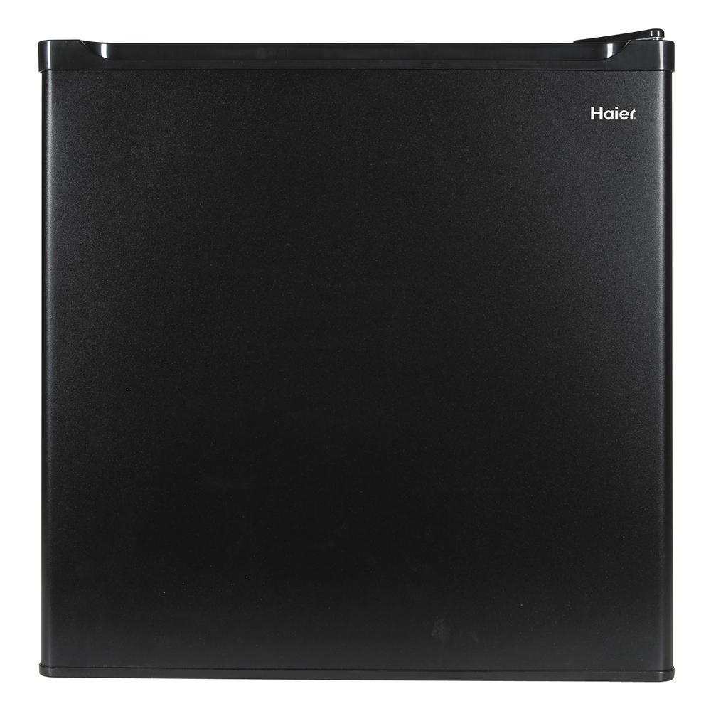 18.875 in. W 1.7 cu. ft. Mini Refrigerator in Black, ENERGY STAR