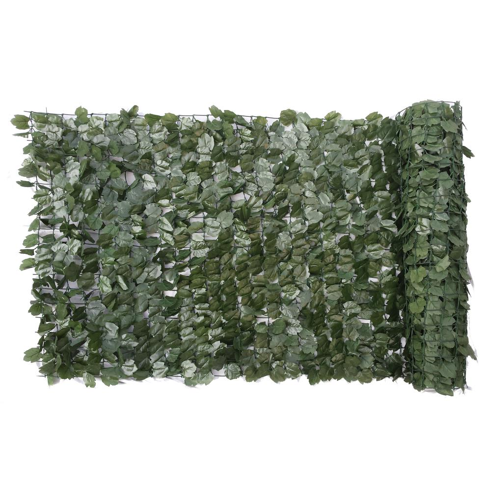 Privahedge 40 in. x 96 in. Faux Ivy Leaf Privacy Roll