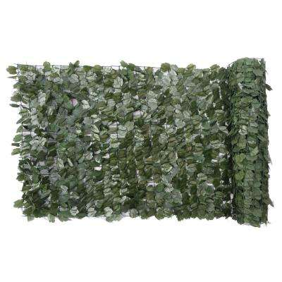 40 in. x 96 in. Faux Ivy Leaf Privacy Roll