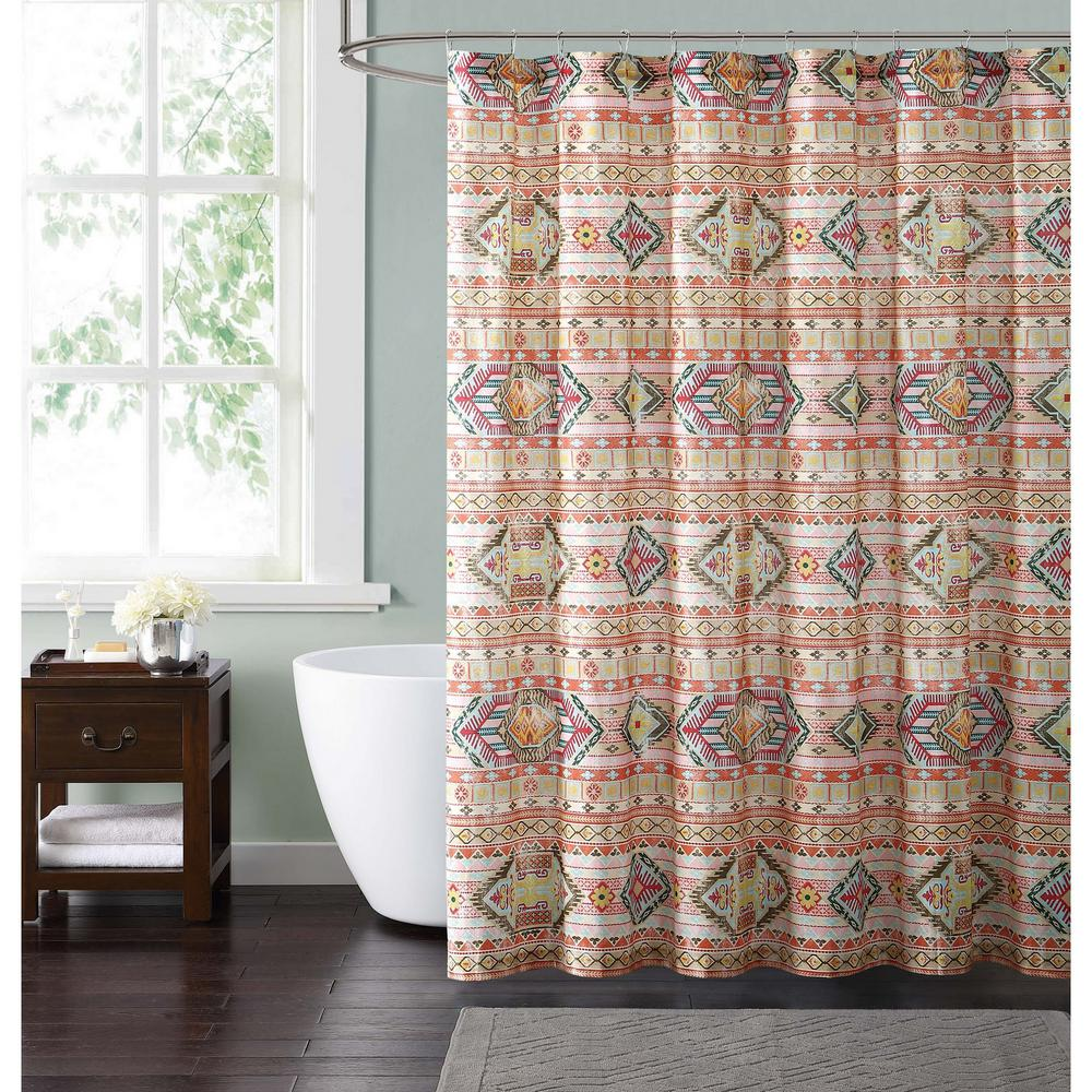 Style 212 allegra 72 in multiple shower curtain sc1794 for Shower curtain savers