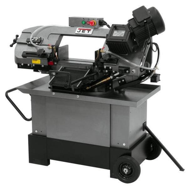 Jet Hvbs 710sg 7 In X 10 5 In Gearhead Miter Band Saw 413452 The Home Depot