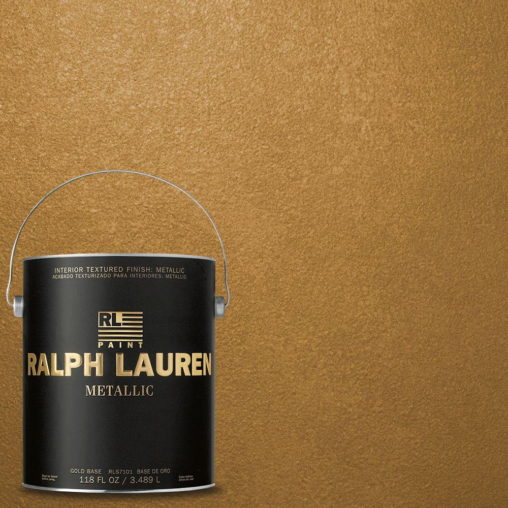 Ralph Lauren 1-gal. Burnished Gold Metallic Specialty Finish Interior Paint