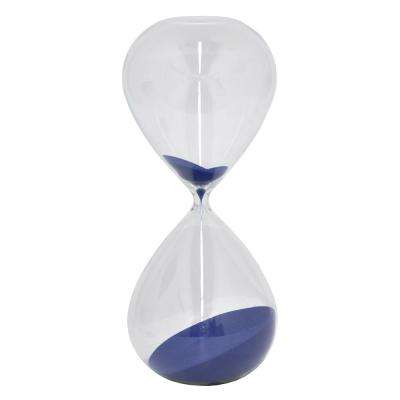 Blue Glass 2-Hours Sand Timer