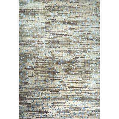Nagala Taupe 7 ft. 10 in. x 10 ft. 2 in. Indoor Area Rug