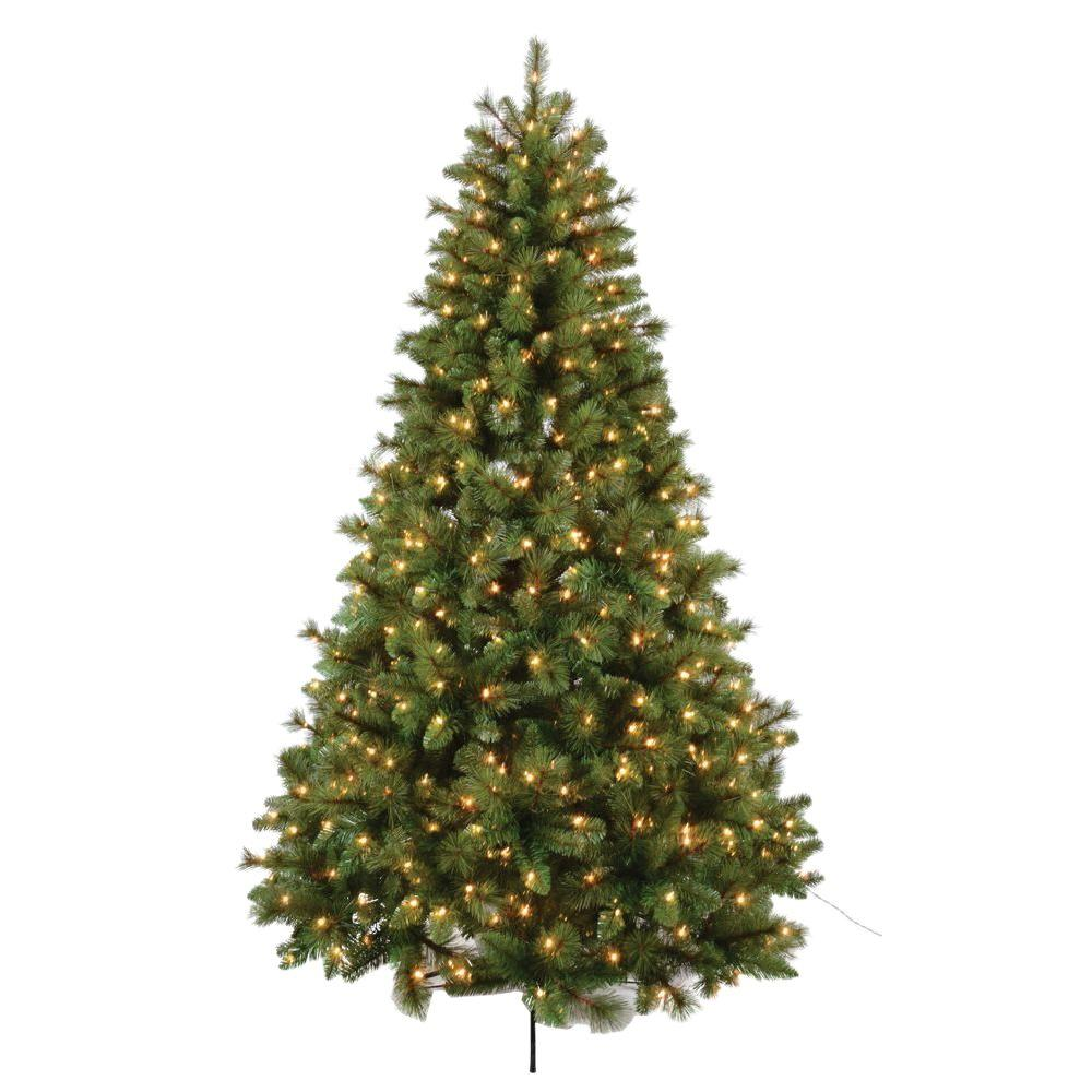 Traditional Christmas Tree.7 5 Ft Bavarian Mixed Pine Artificial Christmas Tree With 650 Ul Lights