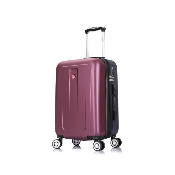 DUKAP Crypto 20 in. Carry-On Lightweight Hard Side Spinner