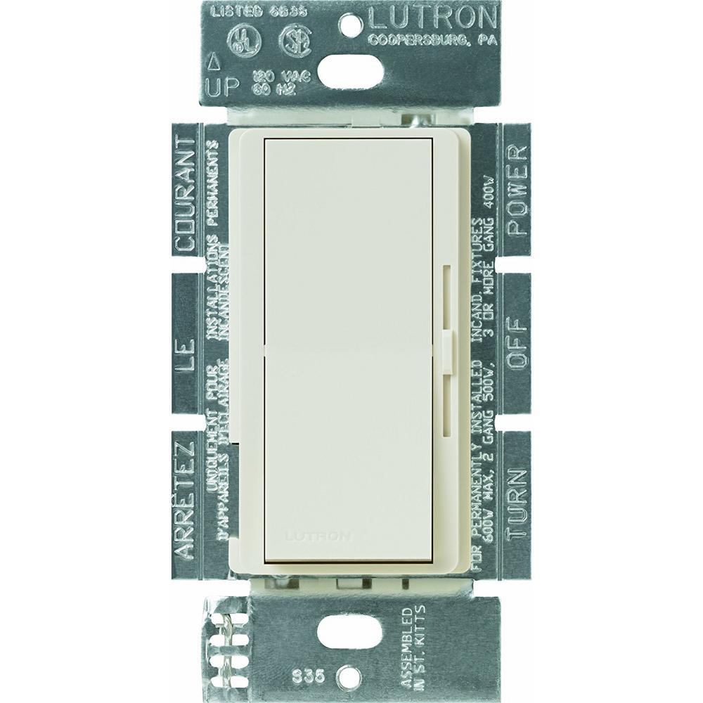 Lutron Diva 15 Amp Single Pole 3 Way Speed Fan Control Light Circuit