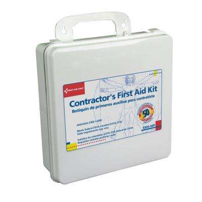 237-Piece Contractor's Plastic First Aid Kit