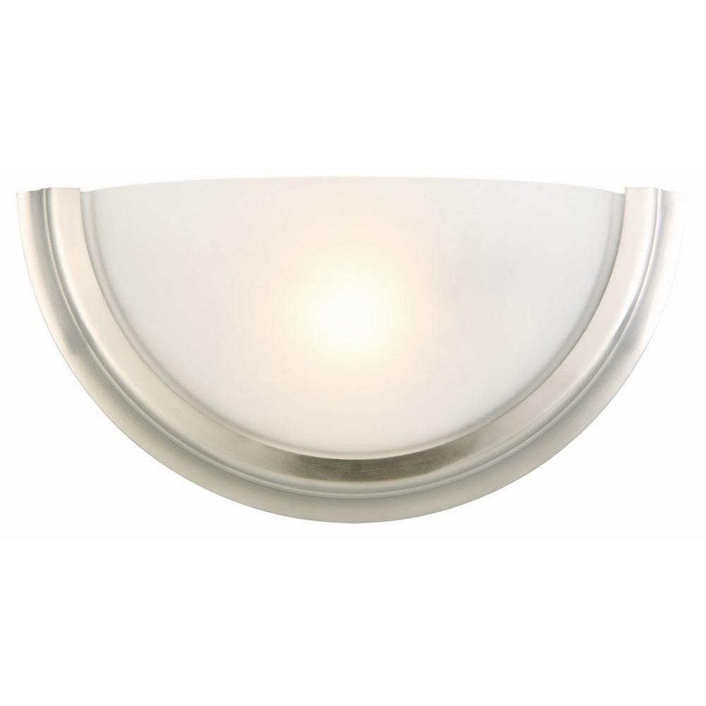 Fairfax 1-Light Satin Nickel Sconce